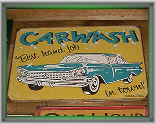 Signs-Carwash